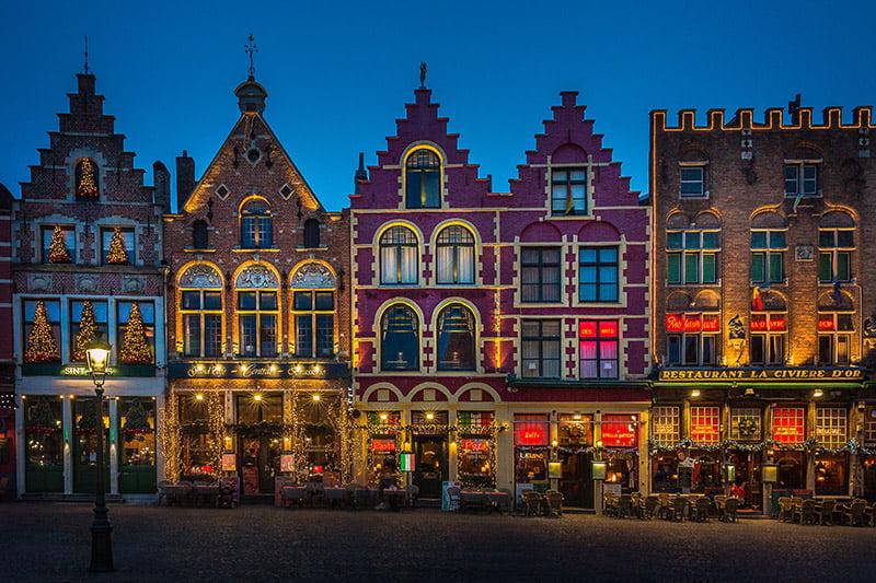 Bruges: romanticismo e cioccolato