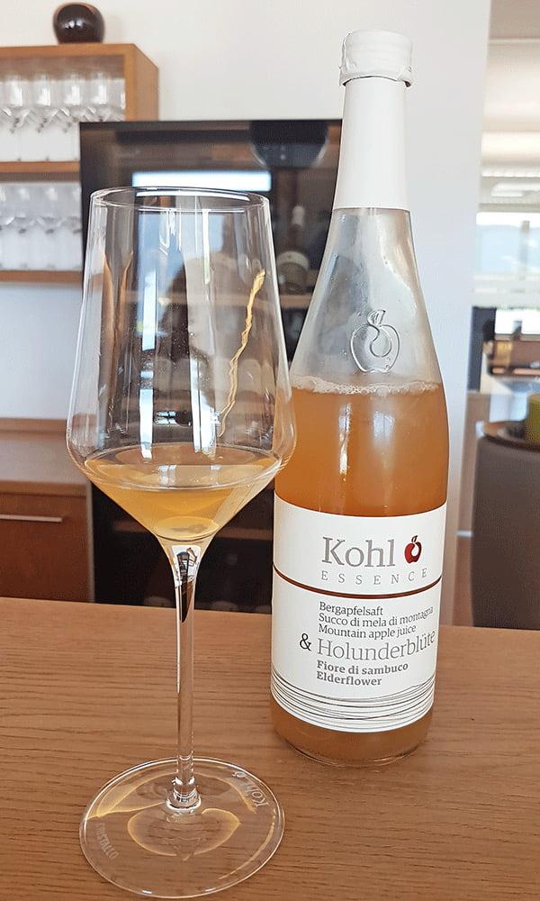 Succo di mela e fiore di sambuco Kohl