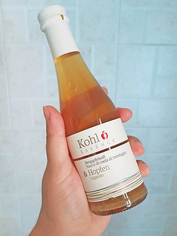 Succo di mela e luppolo Kohl
