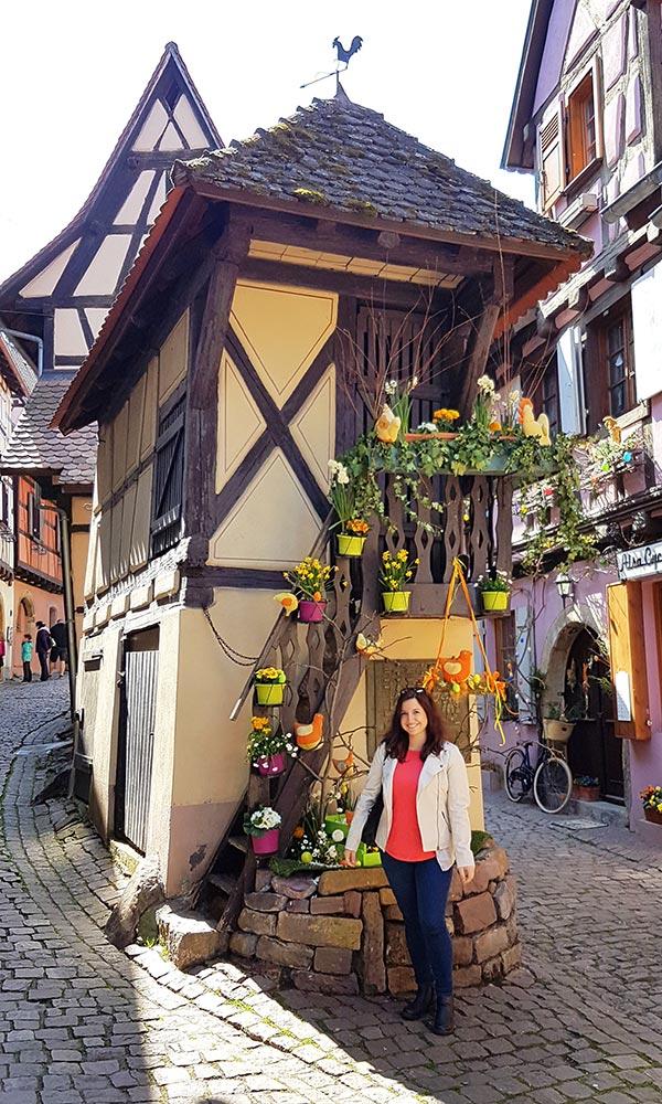Eguisheim casa di Belle