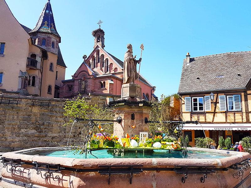 Place St Leon Eguisheim