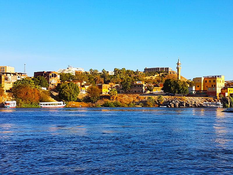 Riva del fiume Nilo