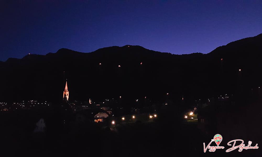 Fuochi del Sacro Cuore Alto Adige